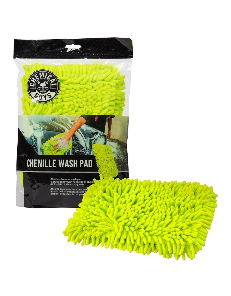 Chemical Guys MIC415 - Chenille Microfiber Wash Pad