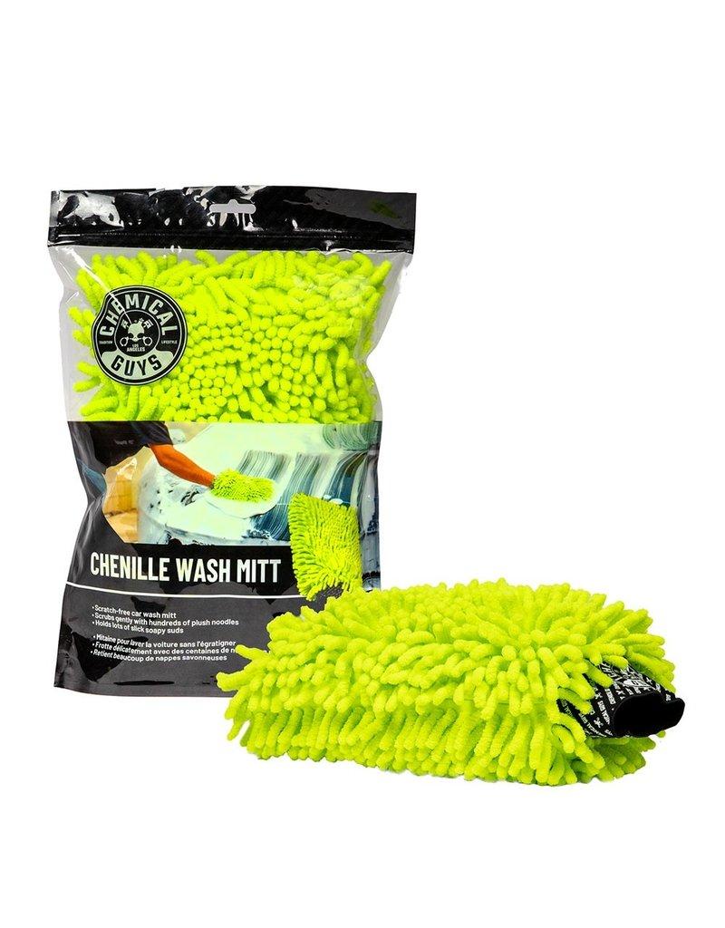 Chemical Guys MIC493 - Chenille Premium Scratch-Free Microfiber Wash Mitt