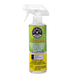 Chemical Guys HyperBan Complete Vehicle Antibacterial Disinfectant Cleaner (16 oz)