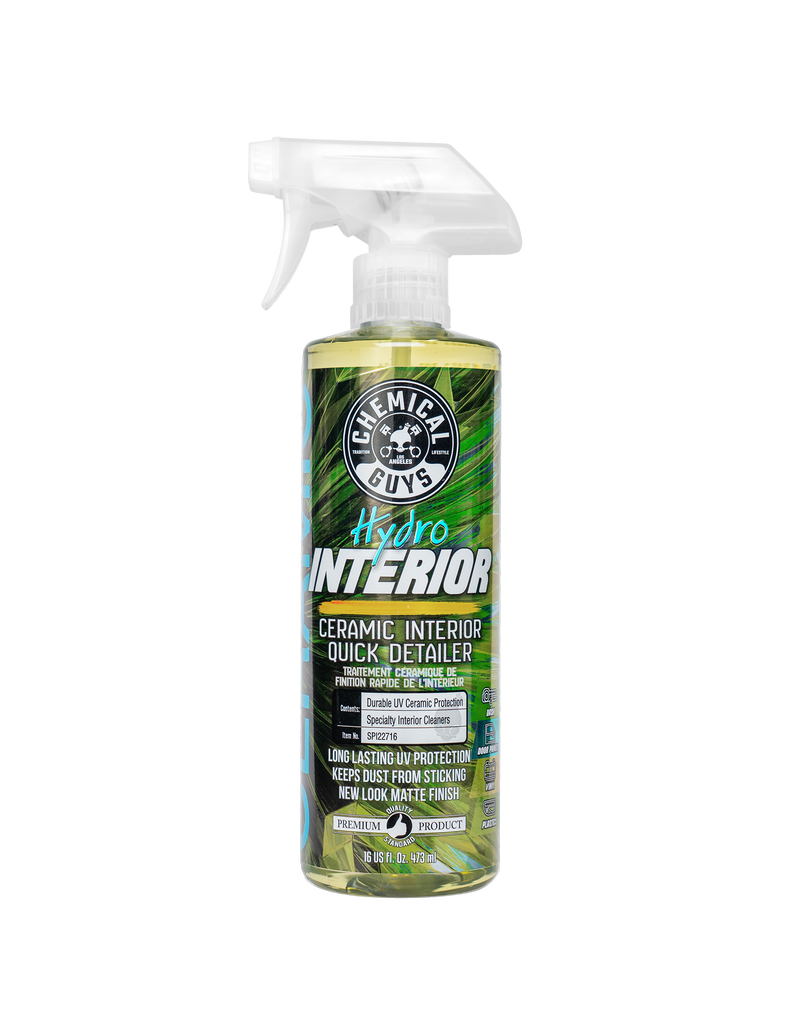 Chemical Guys HydroInterior Ceramic Interior Quick Detailer (16 oz)
