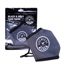 Chemical Guys Chemical Guys Black & Gray Non-Medical Face Mask