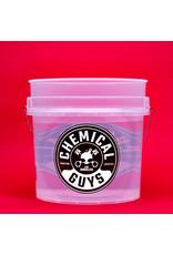 Chemical Guys Heavy Duty Ultra Clear Detailing Bucket 4.5 Gal