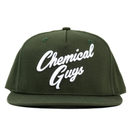 Chemical Guys Chemical Guys Olive Green Script Hat