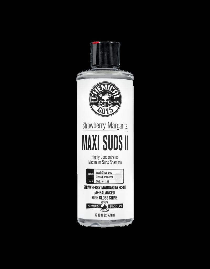 CWS_1011_16 - Maxi-Suds II Strawberry Margarita Super Suds Car Wash Shampoo (16 oz)