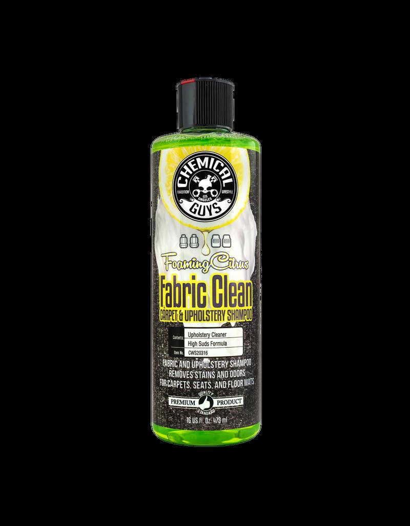 CWS20316 - Foaming Citrus Fabric Clean Carpet & Upholstery Shampoo (16oz)