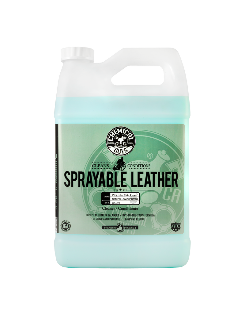 SPI_103 - Sprayable Leather Cleaner & Conditioner in One (1 Gallon)