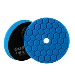 BUFX115HEX6 - Hex-Logic Quantum Polishing/Finishing Pad, Blue (6.5'')
