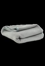 MIC_781_01 - Waffle Weave Gray Matter Dryer Towel, 25'' x 36''