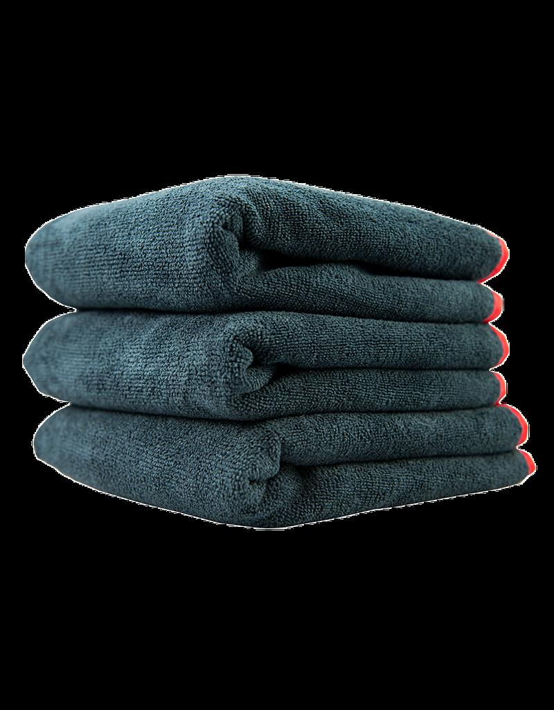 MIC_508_03 - Premium Red-Line Microfiber Towel, 16'' x 16'' (3 Pack)