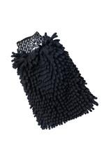 MIC498 - Chenille Microfiber Premium Scratch-Free Wash Mitt, Black