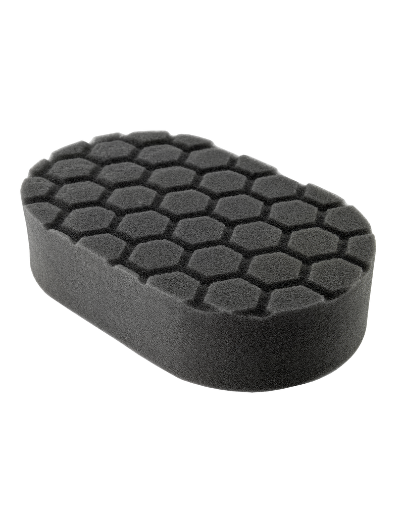 BUFX_203 - Hex-Logic Finishing Hand Applicator Pad, Black (3 x 6 x 1 Inch)