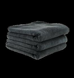 MIC35303 - Workhorse Black Professional Grade Microfiber Towel, 16'' x 16'' (Rubber/Plastic/Vinyl), 3 Pack