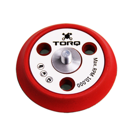 BUFLC_200 - TORQ R5 Dual-Action Red Backing Plate with Hyper Flex Technology (3 inch)