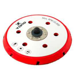 BUFLC_202 - TORQ R5 Dual-Action Red Backing Plate with Hyper Flex Technology (6 inch)