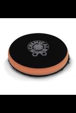 BUFX_300_4 - Black Optics Microfiber Orange Cutting Pad (4.5'')