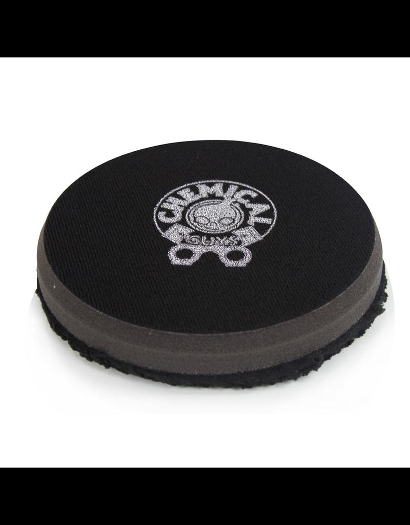 "BUFX_305_6 - Black Optics Microfiber Black Polishing Pad (6.5"")"