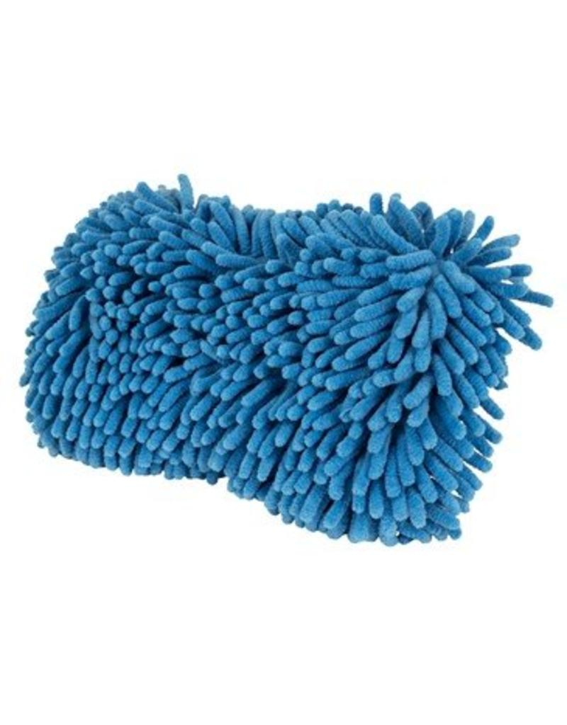 Double Sided Chenille Blue Wash Sponge