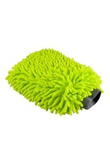 Chenille Microfiber Premium Scratch-Free Wash Mitt, Lime Green
