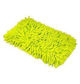 Chenille Microfiber Premium Scratch-Free Wash Pad, Lime Green