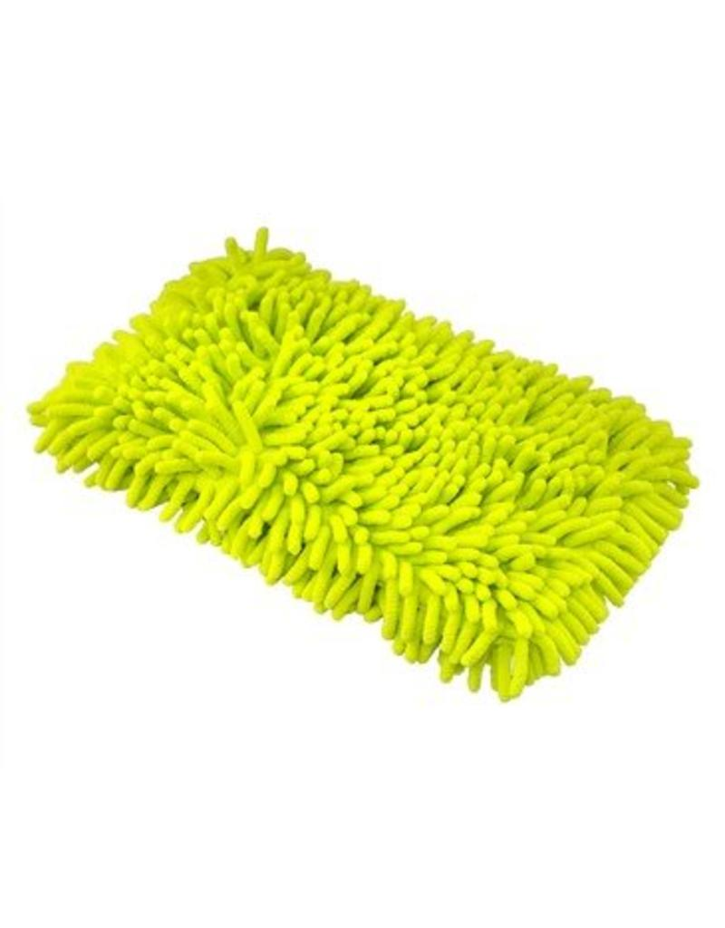 Chenille Microfiber Premium Scratch-Free Wash Pad, Lime Green