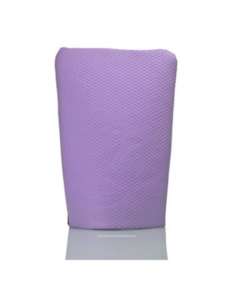 Clay Eraser Mitt, Purple (Medium)