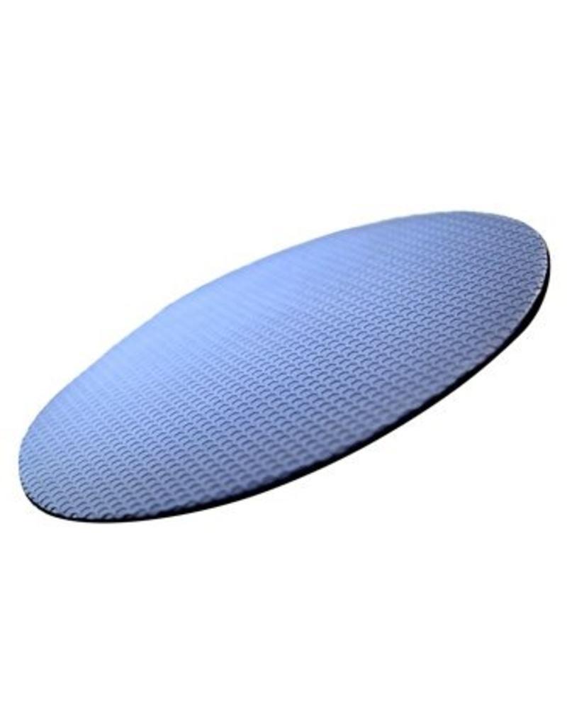 Clay Eraser Disc, Blue (Fine) - 6 inch