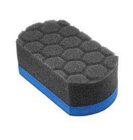 Easy Grip Ultra Soft Hex-Logic Applicator Pad, Blue