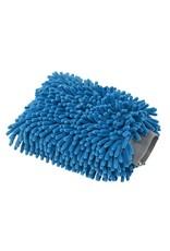 Chenille Microfiber Premium Scratch-Free Wash Mitt, Blue