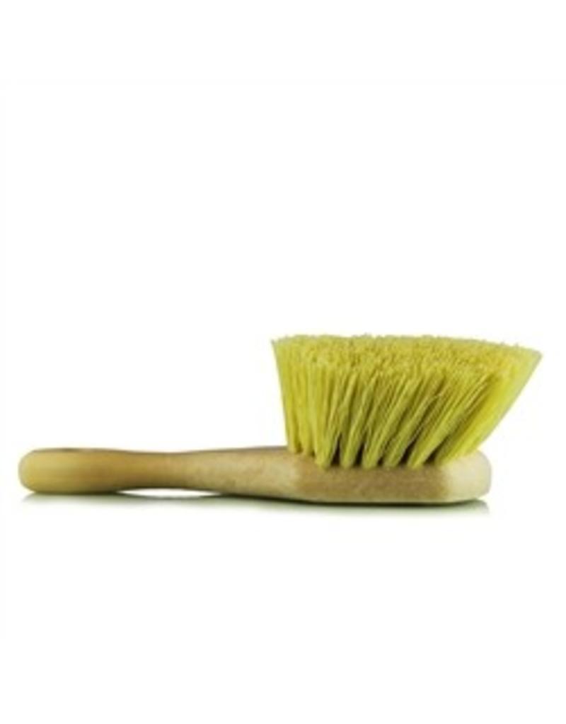 Chemical Resistant Stiffy Brush, Yellow