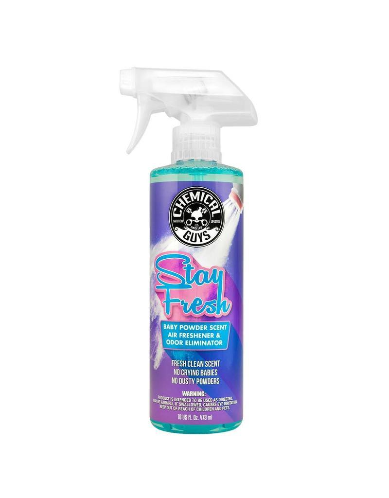 AIR23416 - Stay Fresh Baby Powder Scented Air Freshener & Odor Eliminator (16 oz)