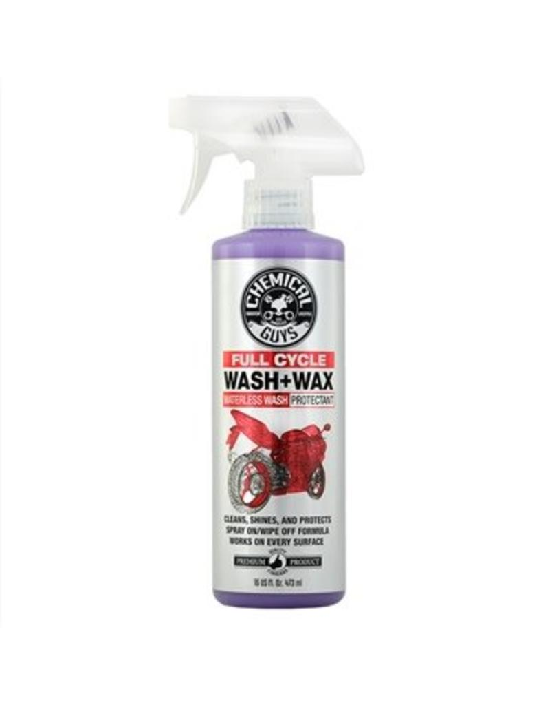 Full Cycle Wash & Wax Waterless Cleaner and Protectant for Motorcyclces (16oz)