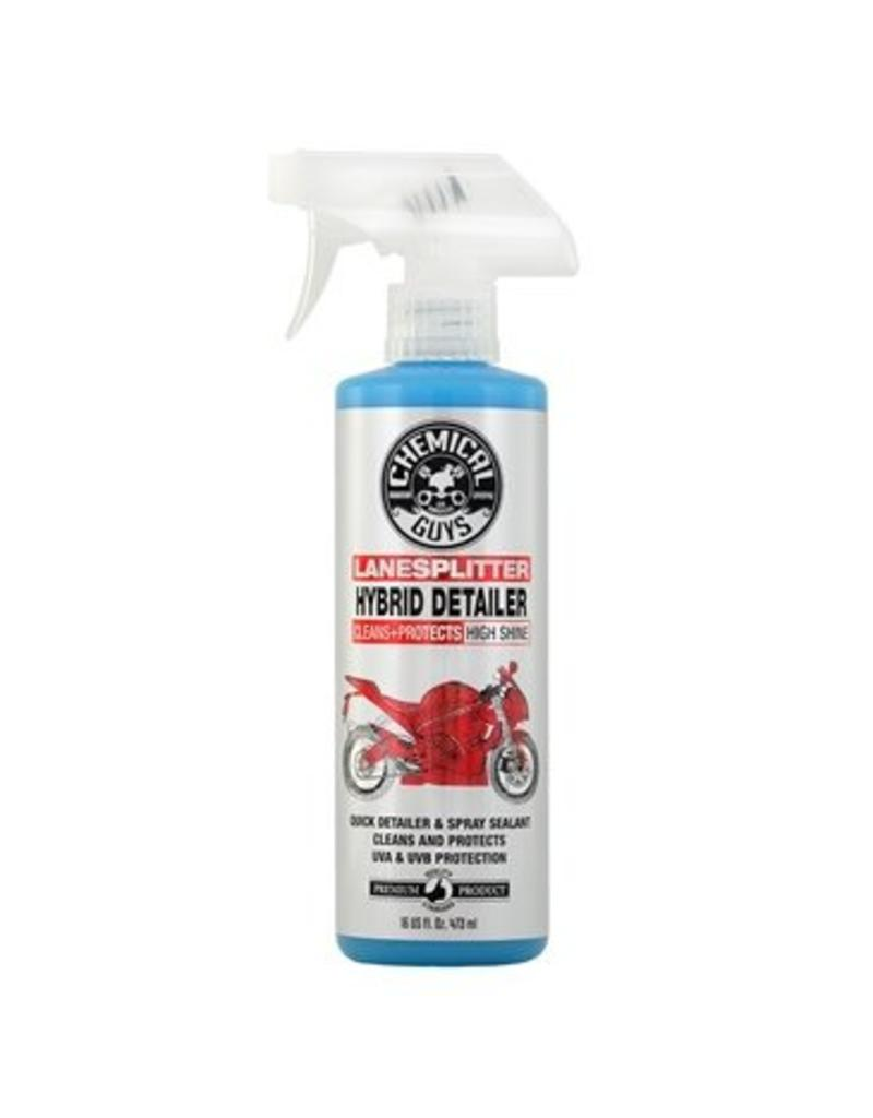 Lane Splitter Hybrid Detailer High Shine Cleaner and Protectant for Motorcycles (16oz)