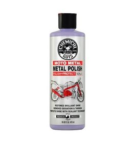 Moto Metal Polish Cleaner, Polish & Protectant for Motorcycles (16oz)