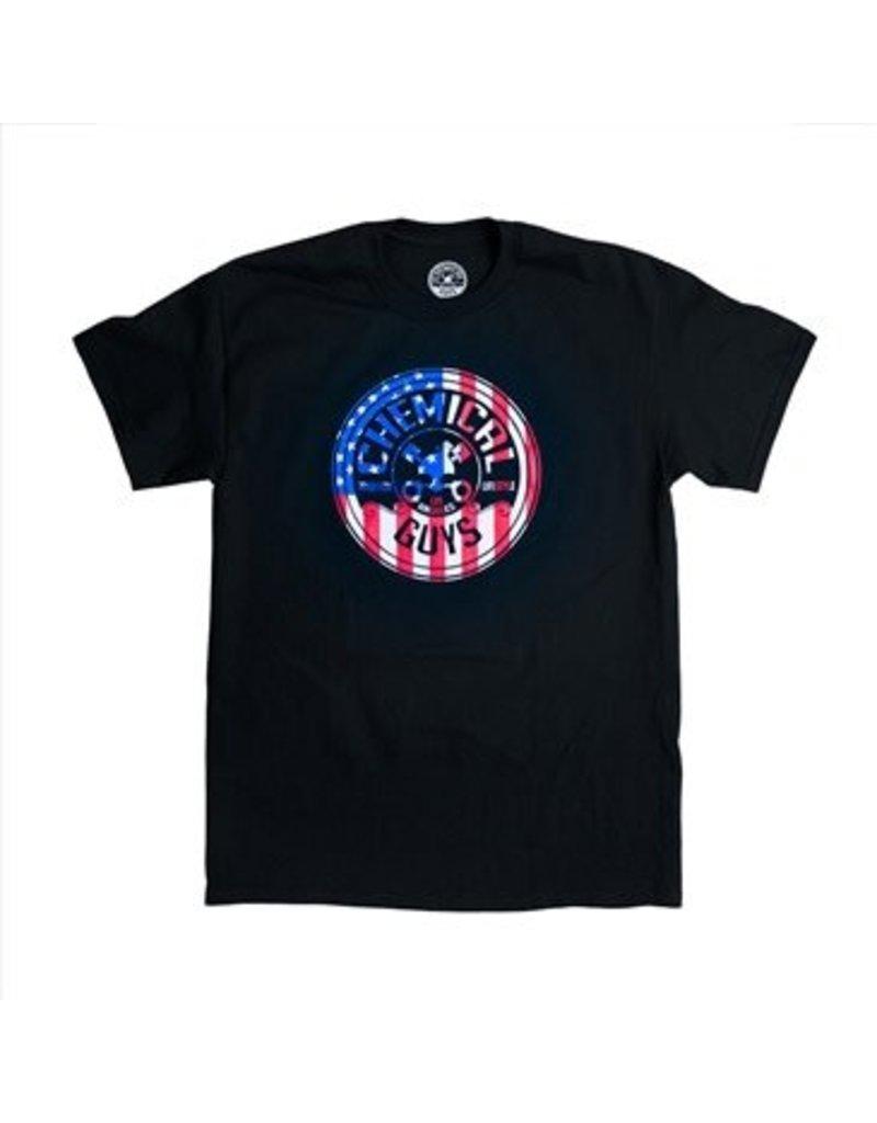 SHE721L - American Stars & Stripes T-Shirt (LARGE)