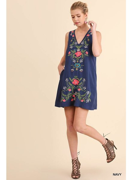 Brooke Embroidered Dress