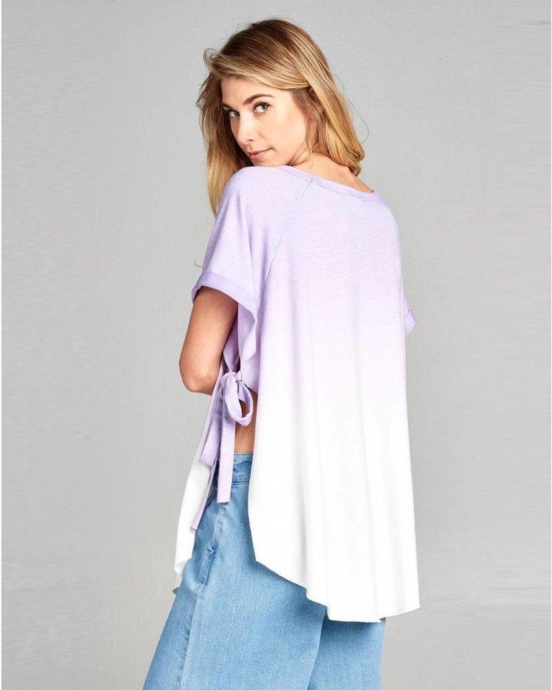 Lavender Ombre Top