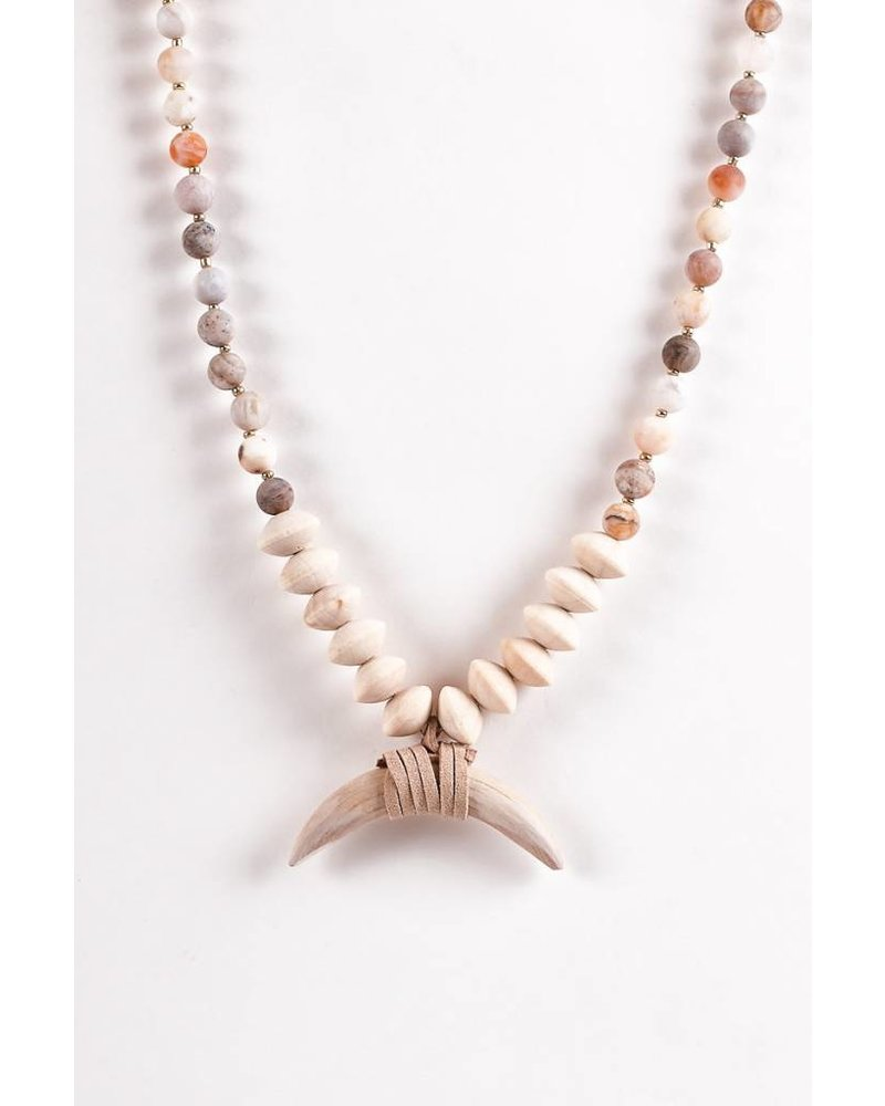 Austin Necklace- Natural