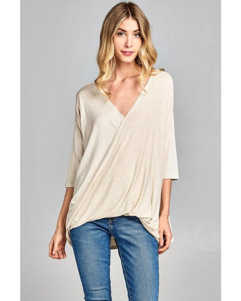 Rosa Surplice Top