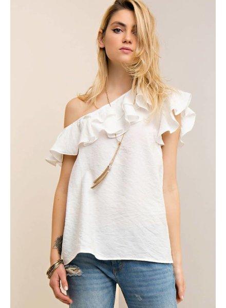 Bardot One Shoulder Top
