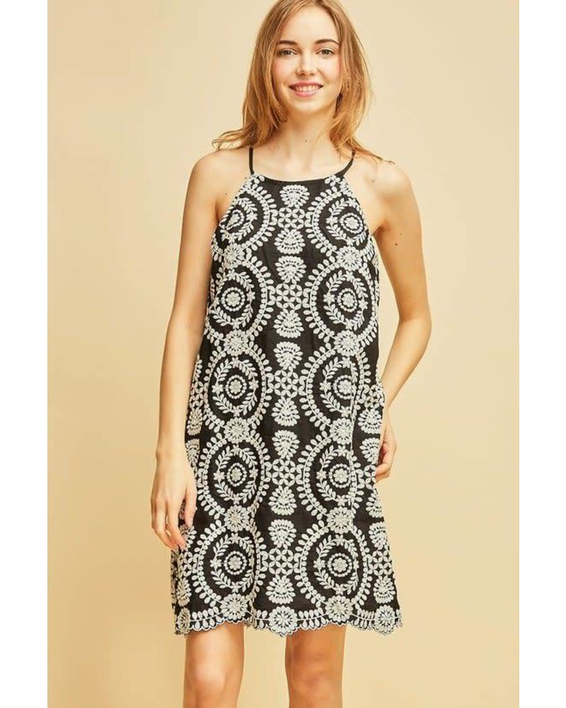 Brynn Embroidered Dress