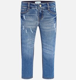 Mayoral Regular Fit Mix Long Denim Trousers for Girl
