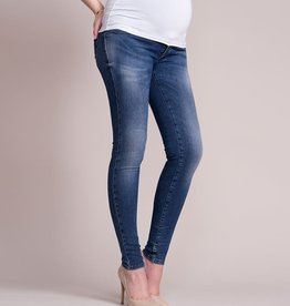 Seraphine Faded Over Bump Skinny Maternity Jeans