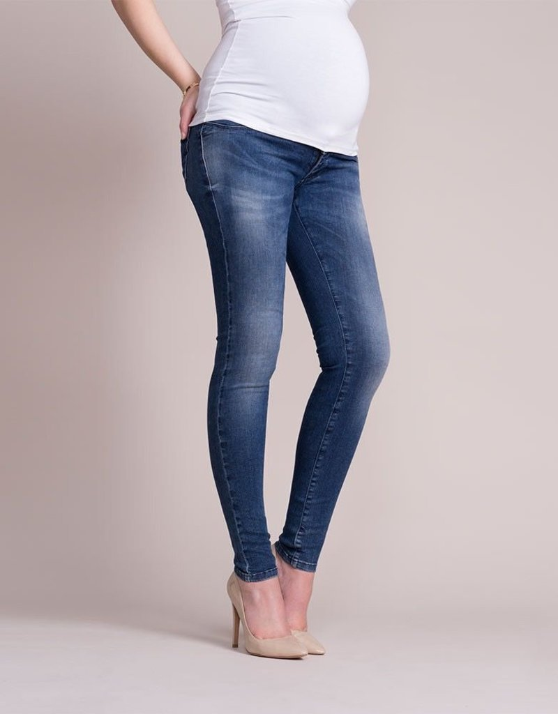 56e32a0263c77 Seraphine Faded Over Bump Skinny Maternity Jeans - Steveston Village ...