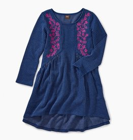 Tea Collection Embroidered Hi-Lo Dress for Girl