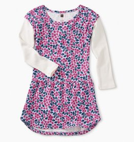 Tea Collection Layered Sleeve Pocket Dress for Girl