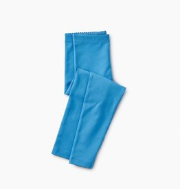 Tea Collection Solid Leggings in Lagoon