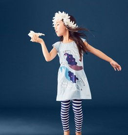 Tea Collection Striped Leggings in Nightfall for Girl