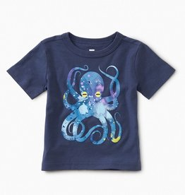 Tea Collection Pop Octopus Baby Graphic Tee for Baby Boy