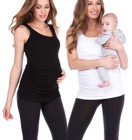 Seraphine Aniza 2 Pack Maternity & Nursing Tank Tops