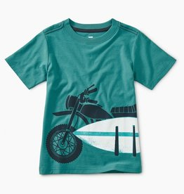 Tea Collection Moto Board Graphic Tee for Boy